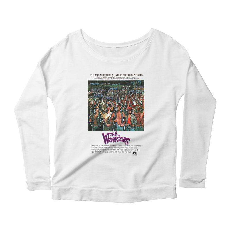 The Warriors Women's Scoop Neck Longsleeve T-Shirt by mostro's Artist Shop