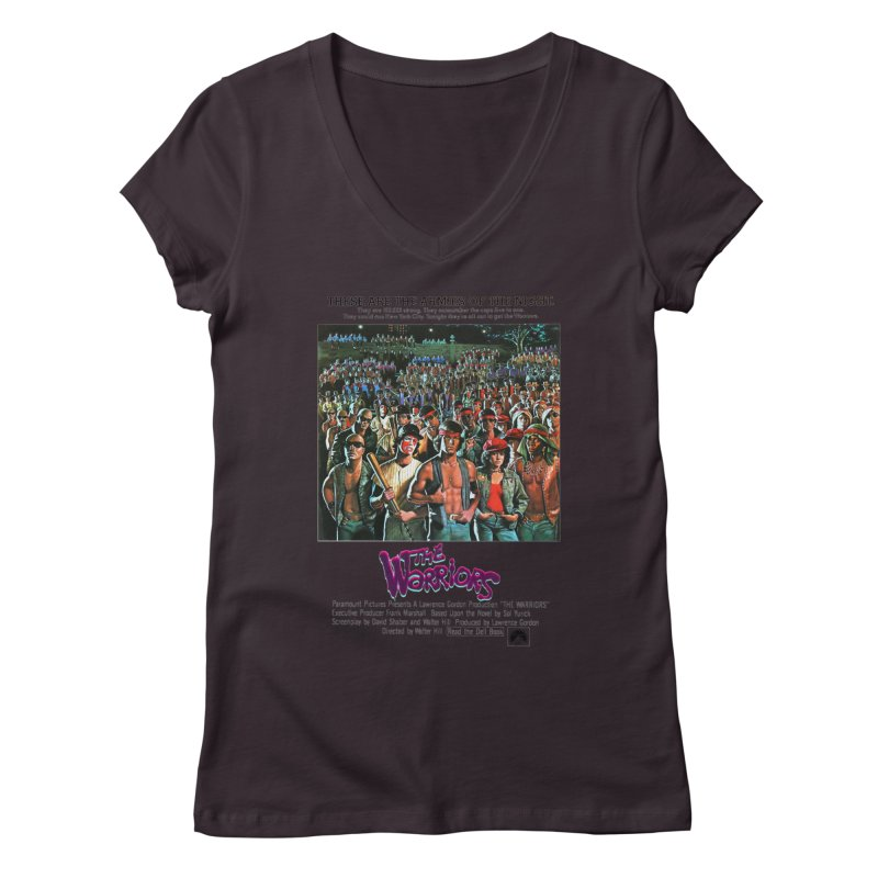 The Warriors Women's Regular V-Neck by mostro's Artist Shop