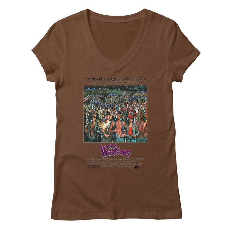 The Warriors Women's Regular V-Neck by mostro's Artist Shop
