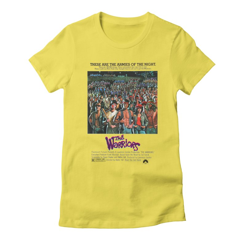 The Warriors Women's Fitted T-Shirt by mostro's Artist Shop