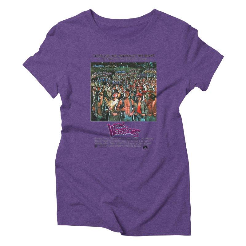The Warriors Women's Triblend T-Shirt by mostro's Artist Shop