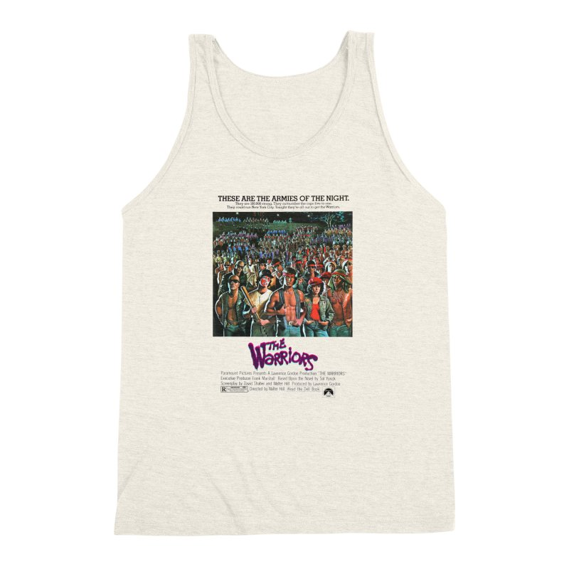 The Warriors Men's Triblend Tank by mostro's Artist Shop