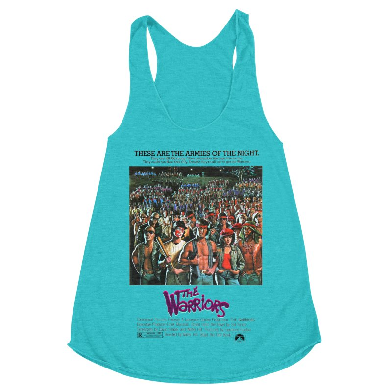 The Warriors Women's Racerback Triblend Tank by mostro's Artist Shop