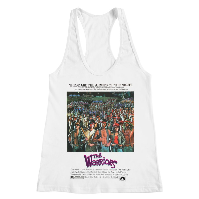 The Warriors Women's Racerback Tank by mostro's Artist Shop