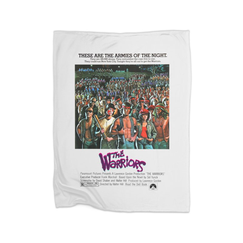 The Warriors Home Fleece Blanket Blanket by mostro's Artist Shop