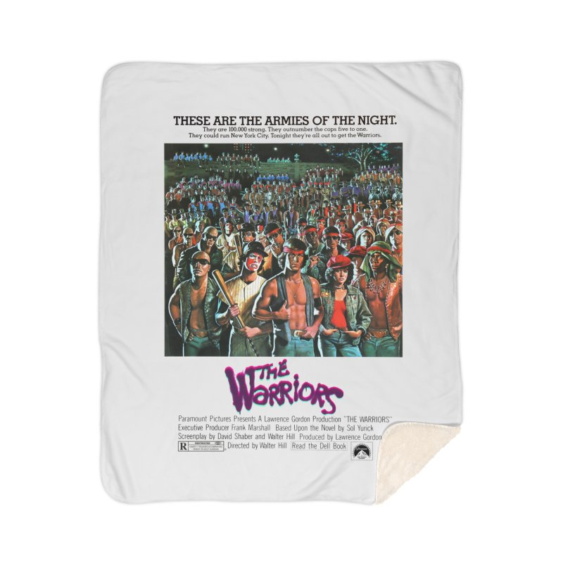 The Warriors Home Sherpa Blanket Blanket by mostro's Artist Shop