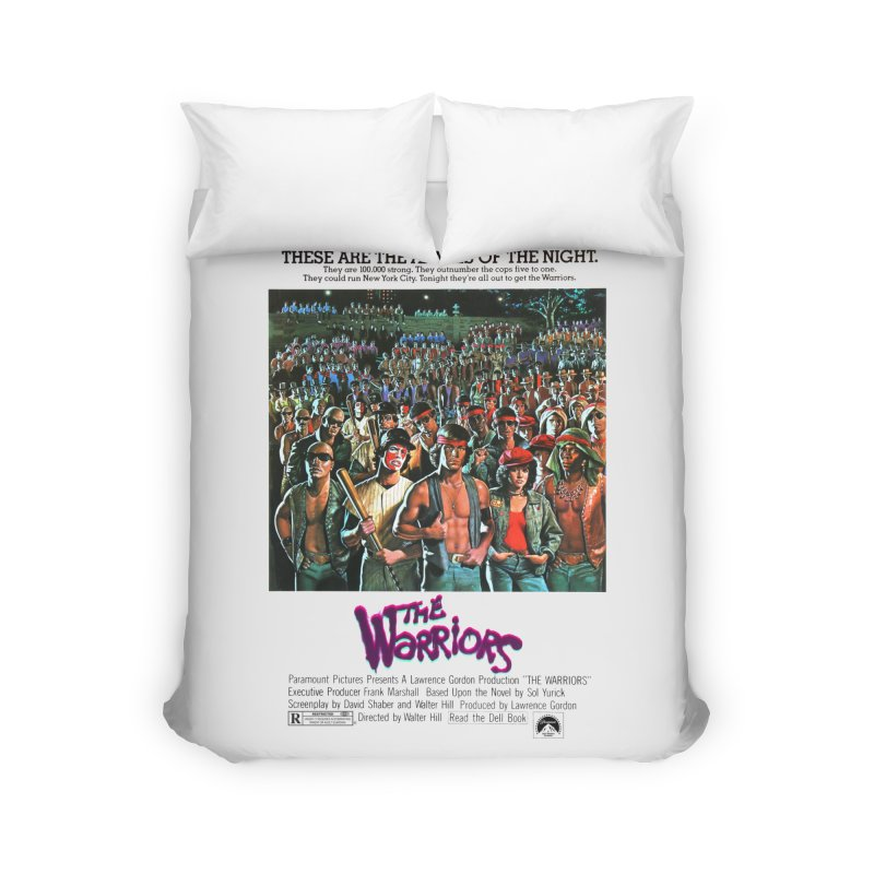 The Warriors Home Duvet by mostro's Artist Shop