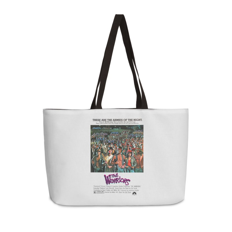 The Warriors Accessories Weekender Bag Bag by mostro's Artist Shop