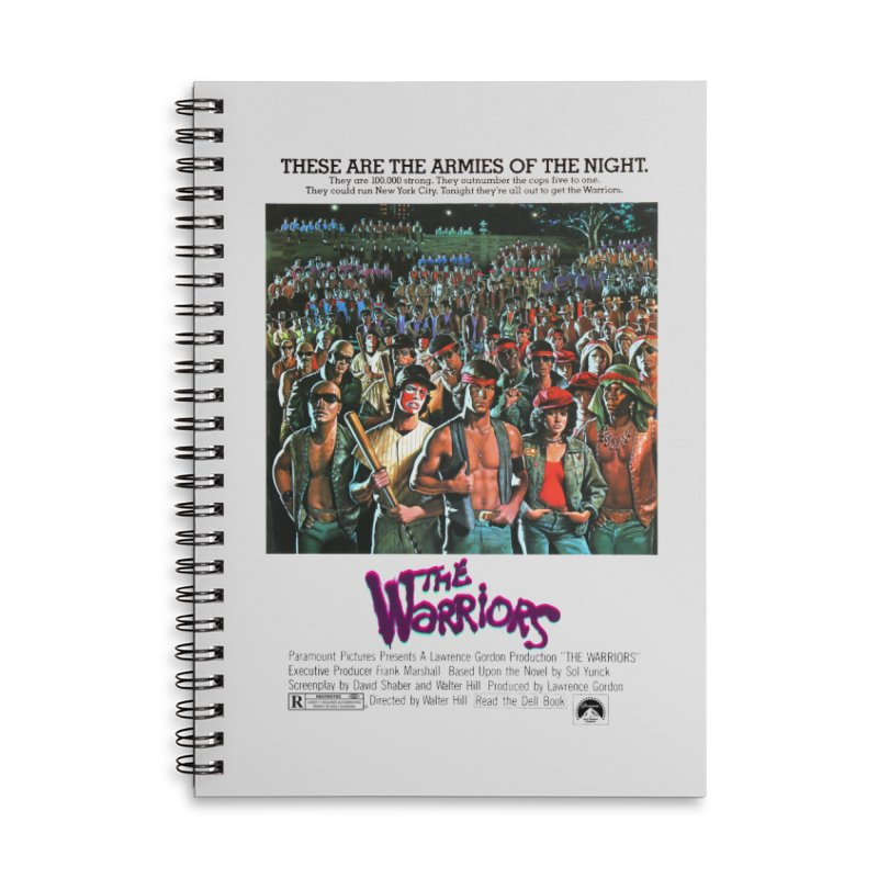 The Warriors Accessories Lined Spiral Notebook by mostro's Artist Shop