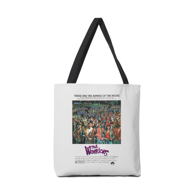 The Warriors Accessories Tote Bag Bag by mostro's Artist Shop