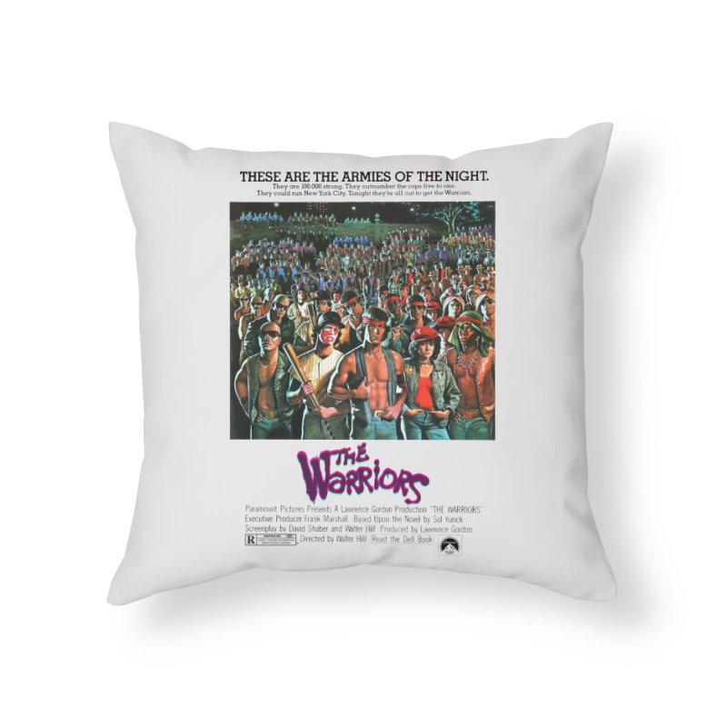 The Warriors Home Throw Pillow by mostro's Artist Shop