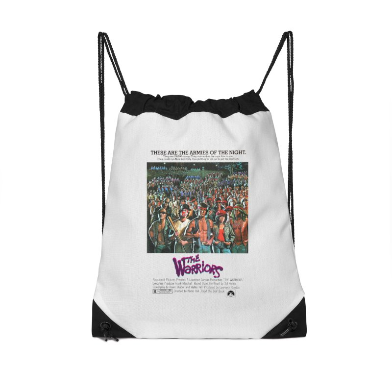 The Warriors Accessories Drawstring Bag Bag by mostro's Artist Shop