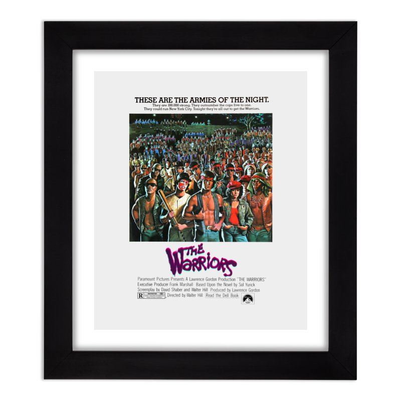 The Warriors Home Framed Fine Art Print by mostro's Artist Shop
