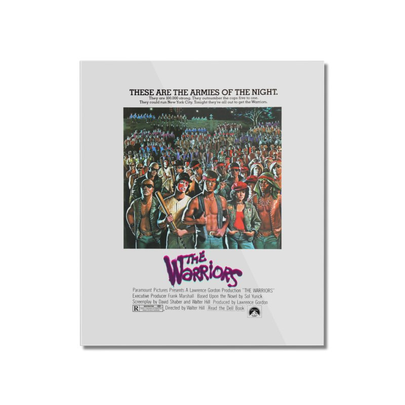 The Warriors Home Mounted Acrylic Print by mostro's Artist Shop