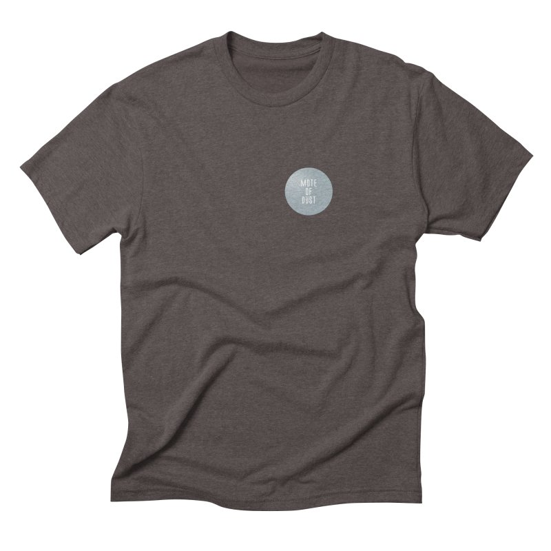 Mote of Dust Basic Logo Men's Triblend T-Shirt by Most of Dust shop