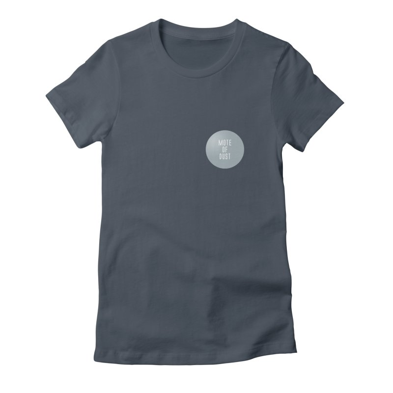 Mote of Dust Basic Logo Women's Fitted T-Shirt by Most of Dust shop