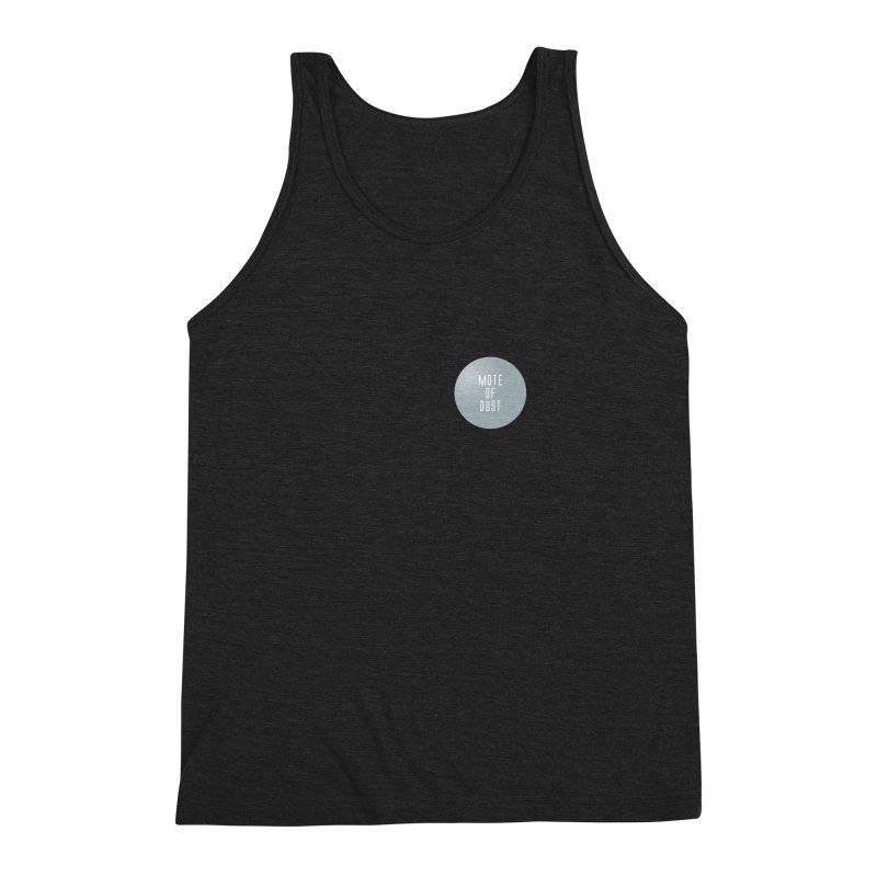 Mote of Dust Basic Logo Men's Triblend Tank by Most of Dust shop