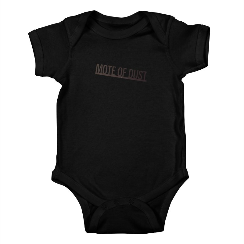 Mote of Dust - Suspended in a sunbeam Kids Baby Bodysuit by Most of Dust shop