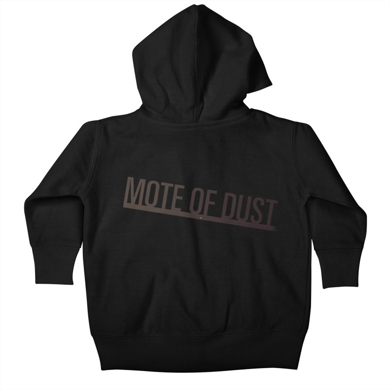 Mote of Dust - Suspended in a sunbeam Kids Baby Zip-Up Hoody by Most of Dust shop