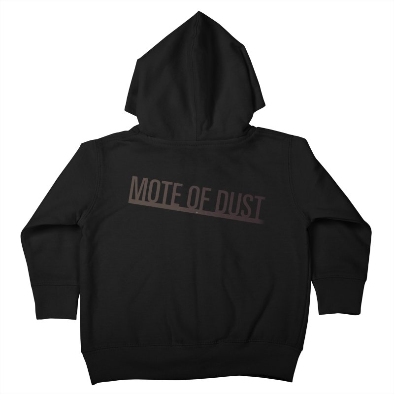 Mote of Dust - Suspended in a sunbeam Kids Toddler Zip-Up Hoody by Most of Dust shop