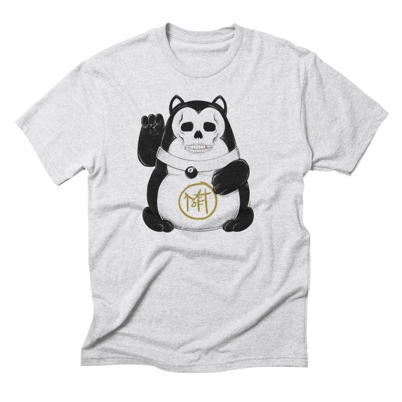 Bad Luck Black Cat Men's Triblend T-Shirt by Mothef