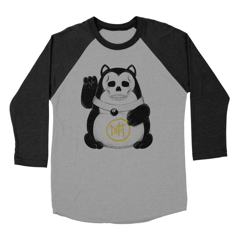 Bad Luck Black Cat Women's Baseball Triblend Longsleeve T-Shirt by Mothef