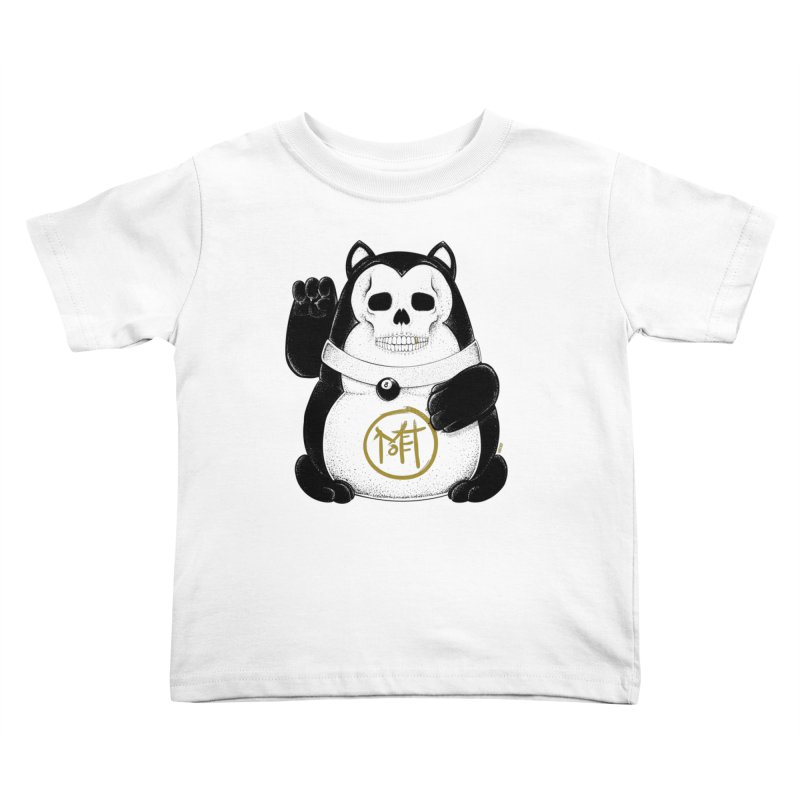 Bad Luck Black Cat Kids Toddler T-Shirt by Mothef