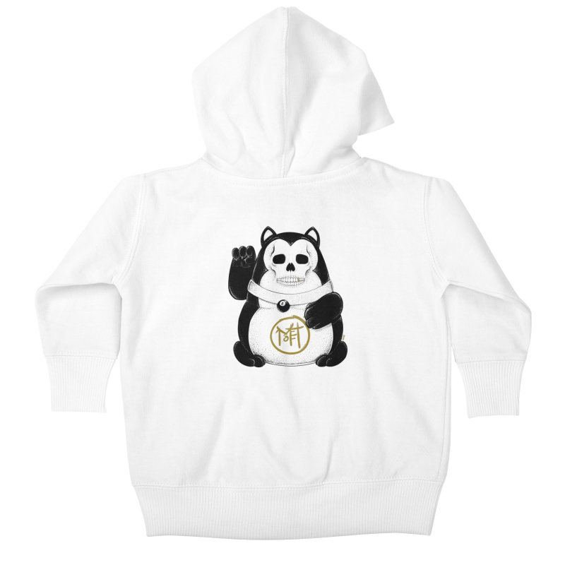 Bad Luck Black Cat Kids Baby Zip-Up Hoody by Mothef