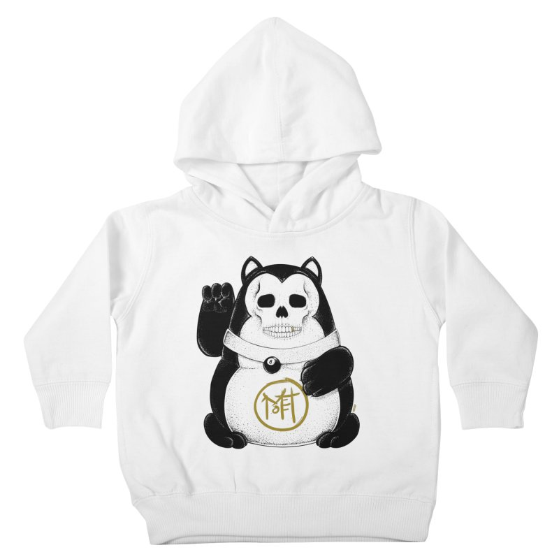 Bad Luck Black Cat Kids Toddler Pullover Hoody by Mothef