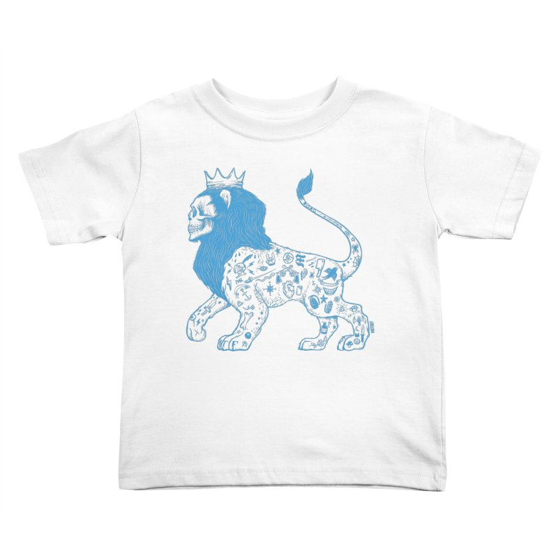 King of the Streets Kids Toddler T-Shirt by Mothef