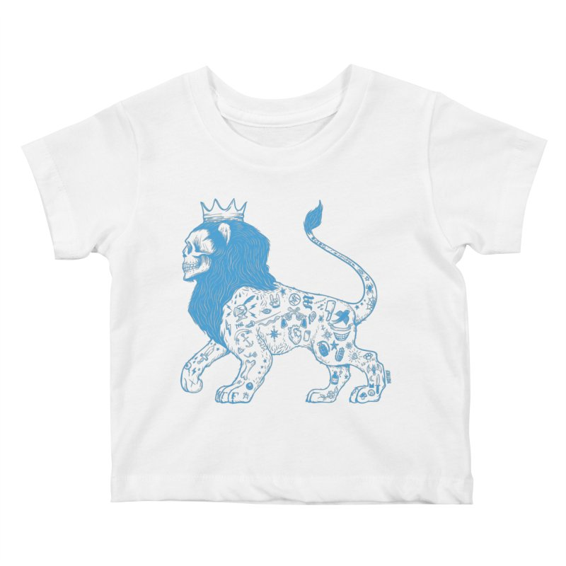 King of the Streets Kids Baby T-Shirt by Mothef