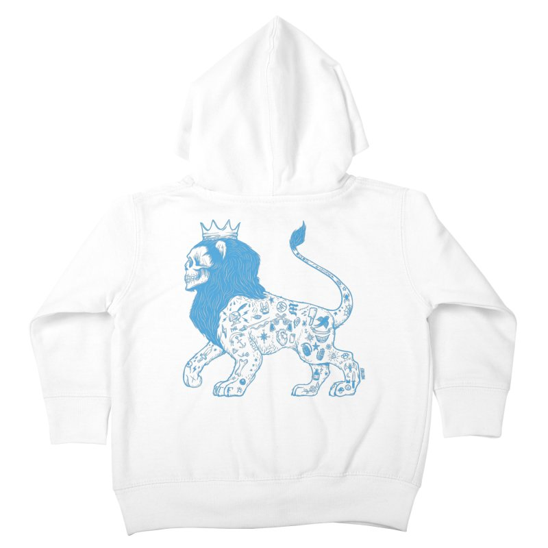 King of the Streets Kids Toddler Zip-Up Hoody by Mothef