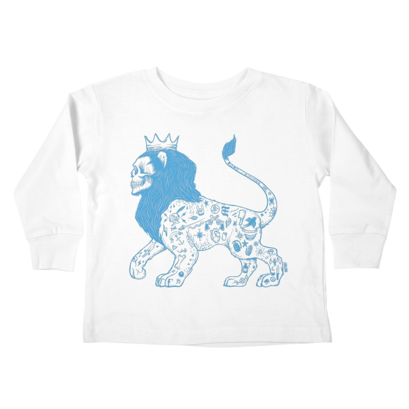 King of the Streets Kids Toddler Longsleeve T-Shirt by Mothef