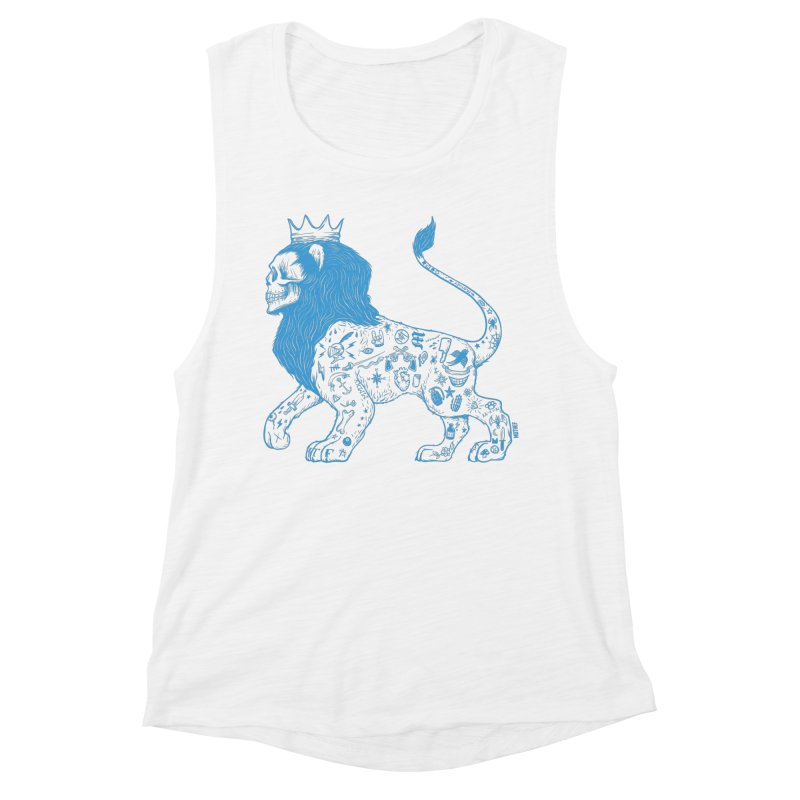 King of the Streets Women's Muscle Tank by Mothef