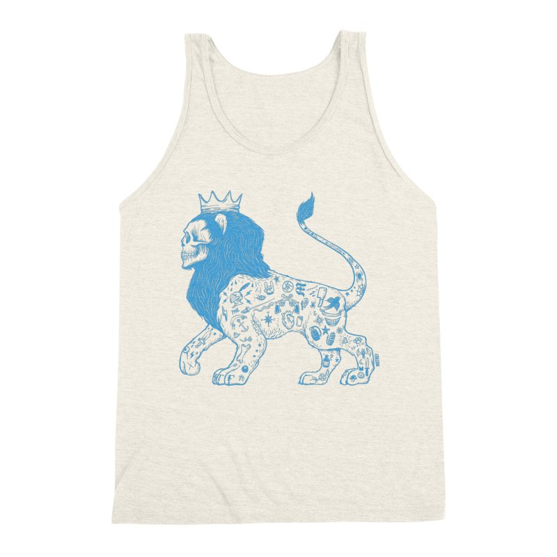 King of the Streets Men's Triblend Tank by Mothef