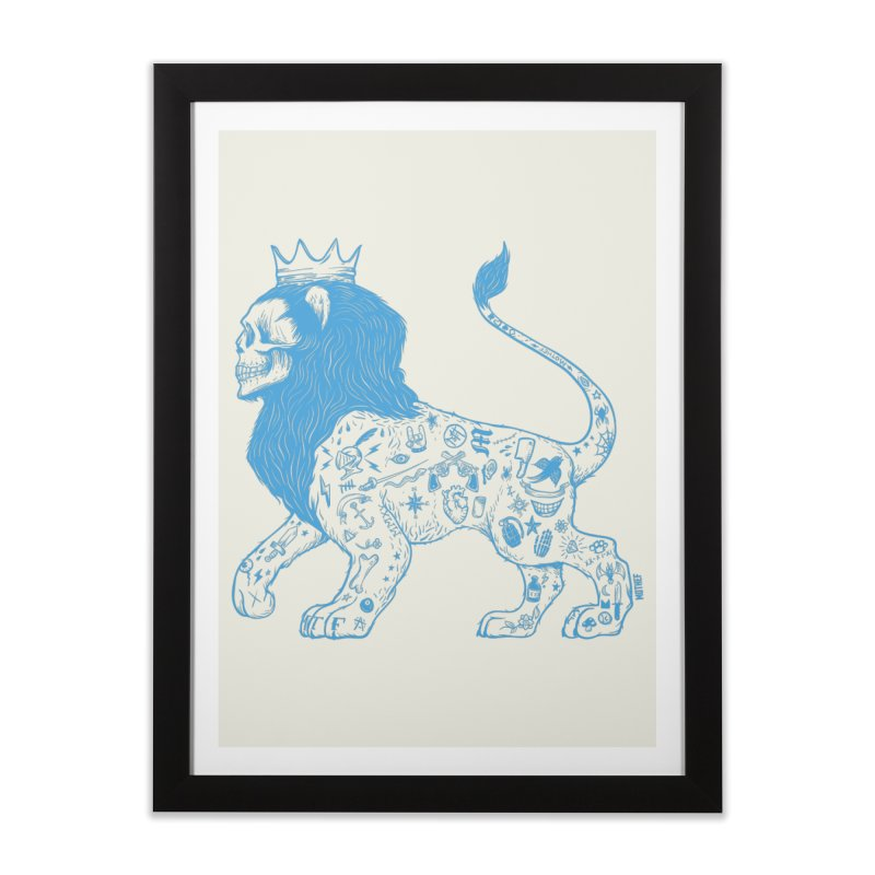 King of the Streets Home Framed Fine Art Print by Mothef