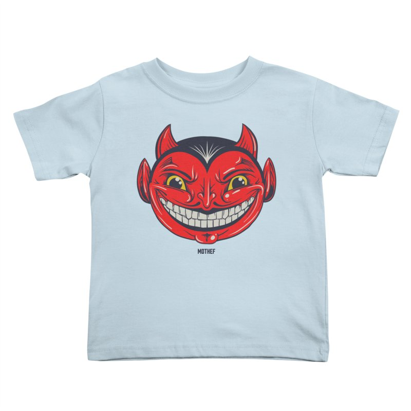 El Diablo Kids Toddler T-Shirt by Mothef