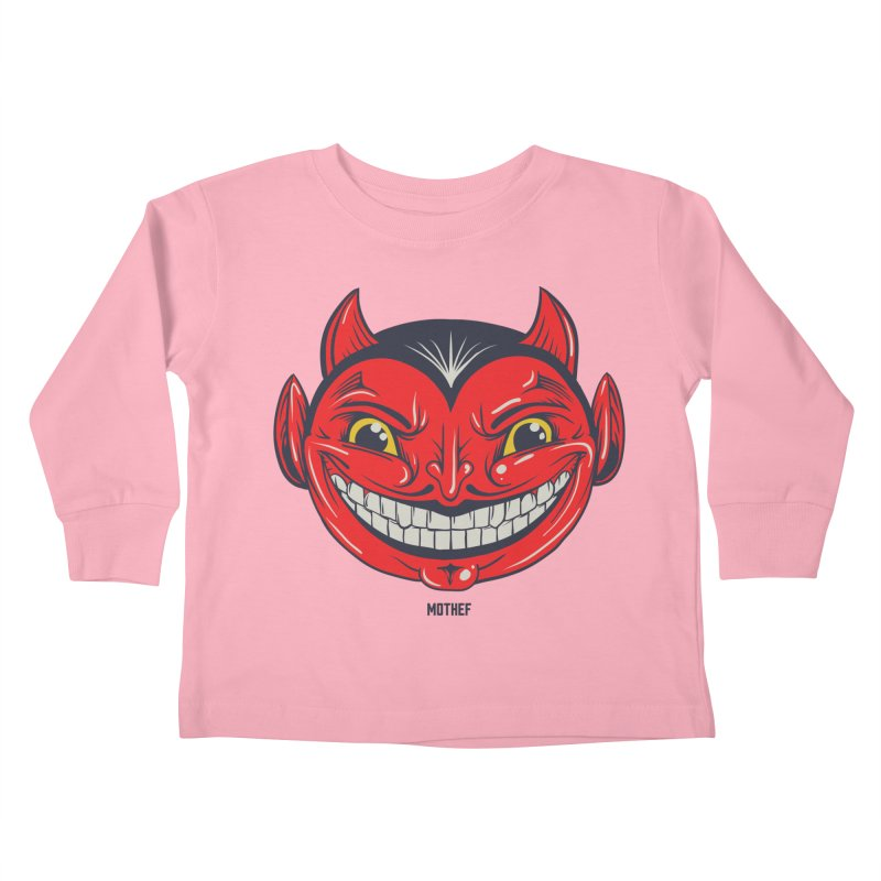 El Diablo Kids Toddler Longsleeve T-Shirt by Mothef