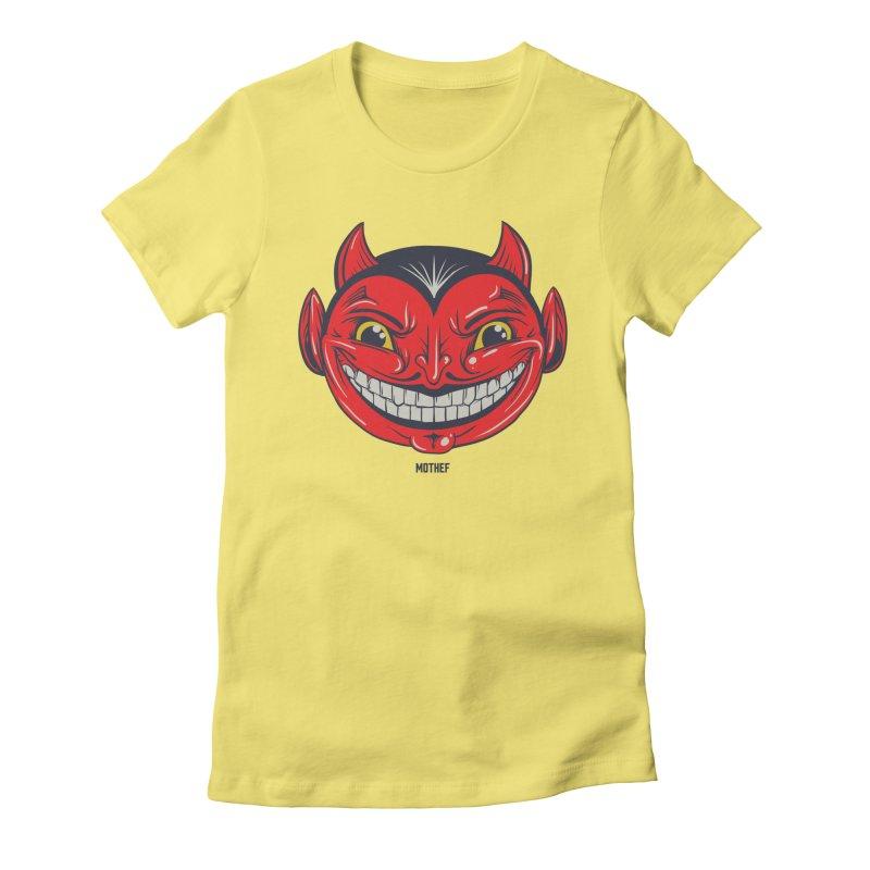 El Diablo Women's Fitted T-Shirt by Mothef