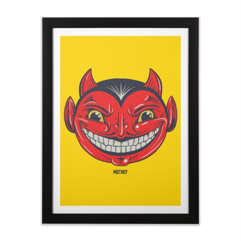 El Diablo Home Framed Fine Art Print by Mothef