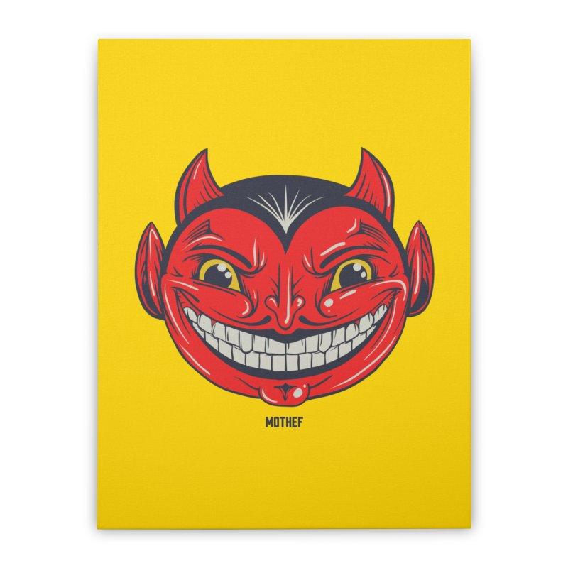 El Diablo Home Stretched Canvas by Mothef
