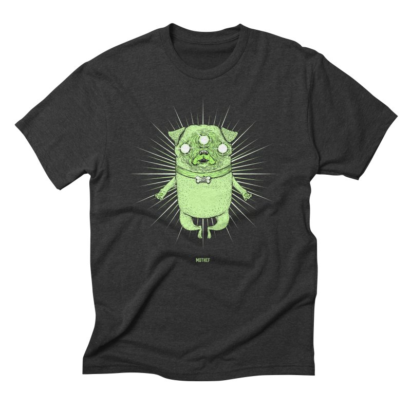 Miracle Pug Men's Triblend T-Shirt by Mothef