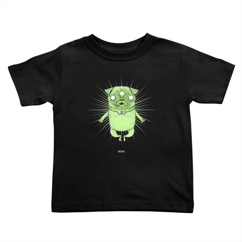 Miracle Pug Kids Toddler T-Shirt by Mothef