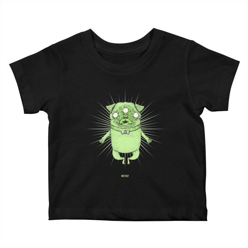 Miracle Pug Kids Baby T-Shirt by Mothef