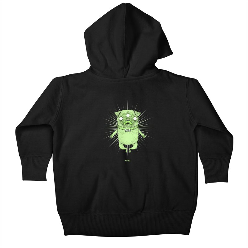Miracle Pug Kids Baby Zip-Up Hoody by Mothef