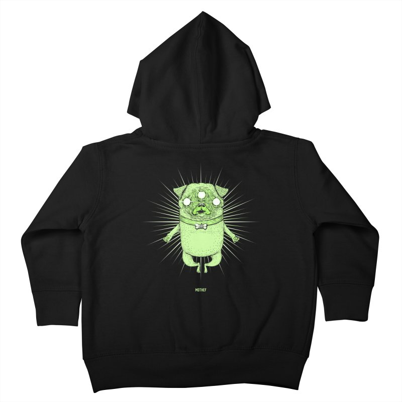 Miracle Pug Kids Toddler Zip-Up Hoody by Mothef