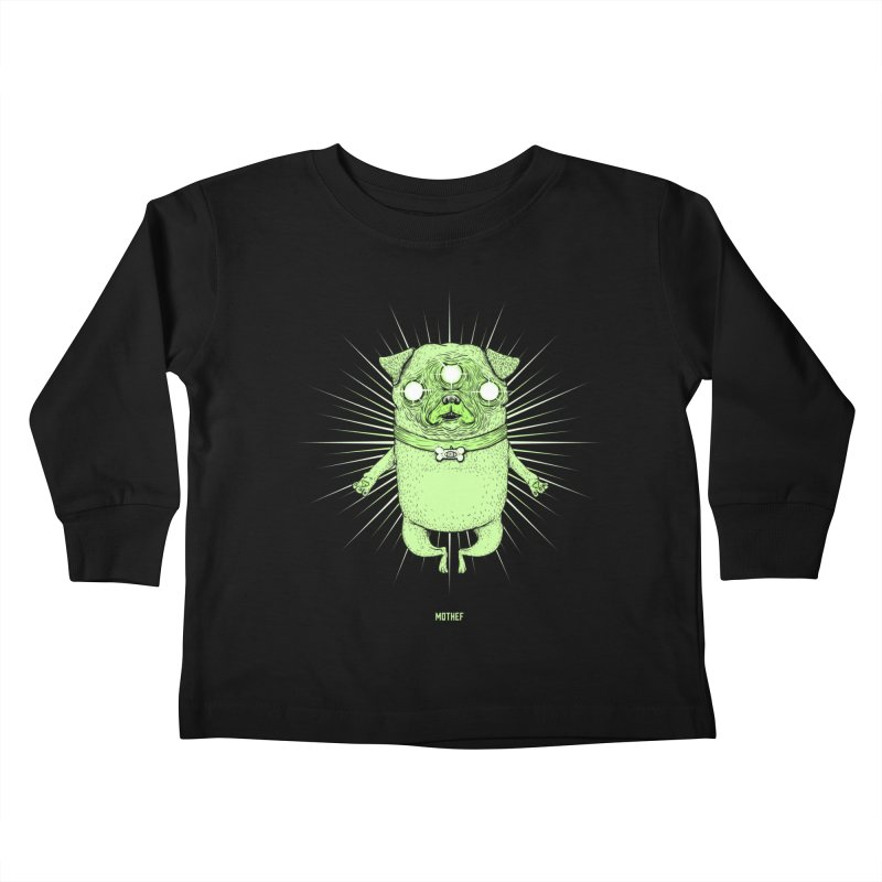 Miracle Pug Kids Toddler Longsleeve T-Shirt by Mothef