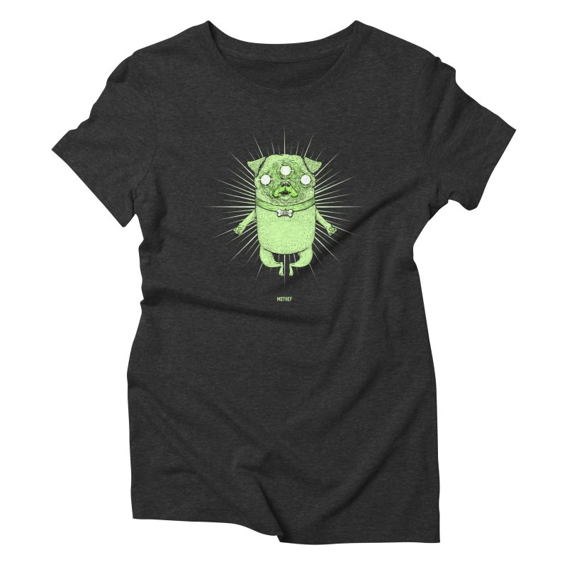 Miracle Pug Women's Triblend T-Shirt by Mothef