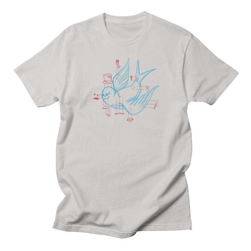 Classy Sparrow Men's Regular T-Shirt by Mothef