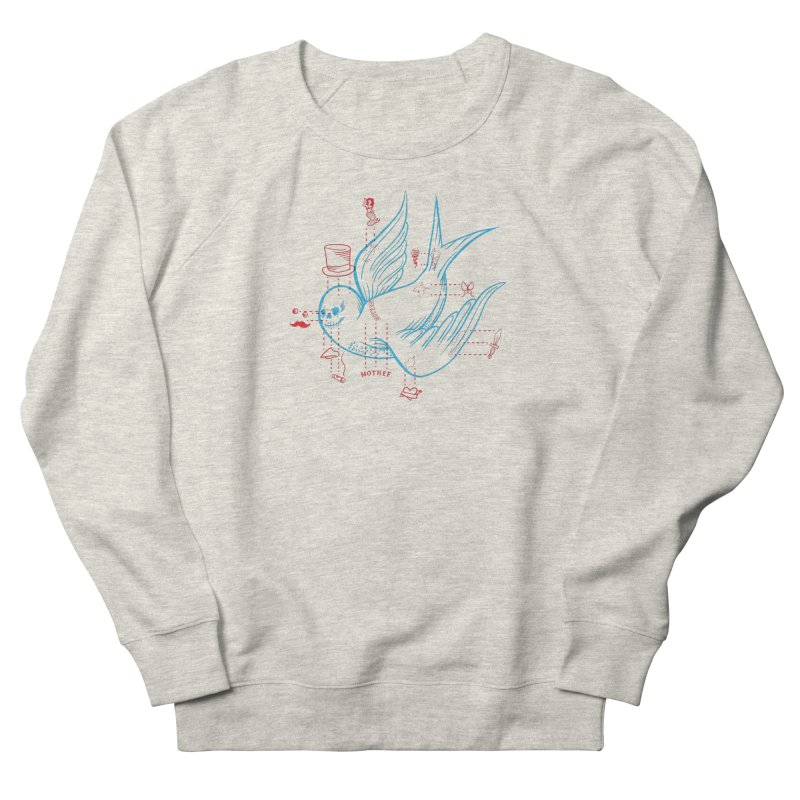 Classy Sparrow Men's French Terry Sweatshirt by Mothef